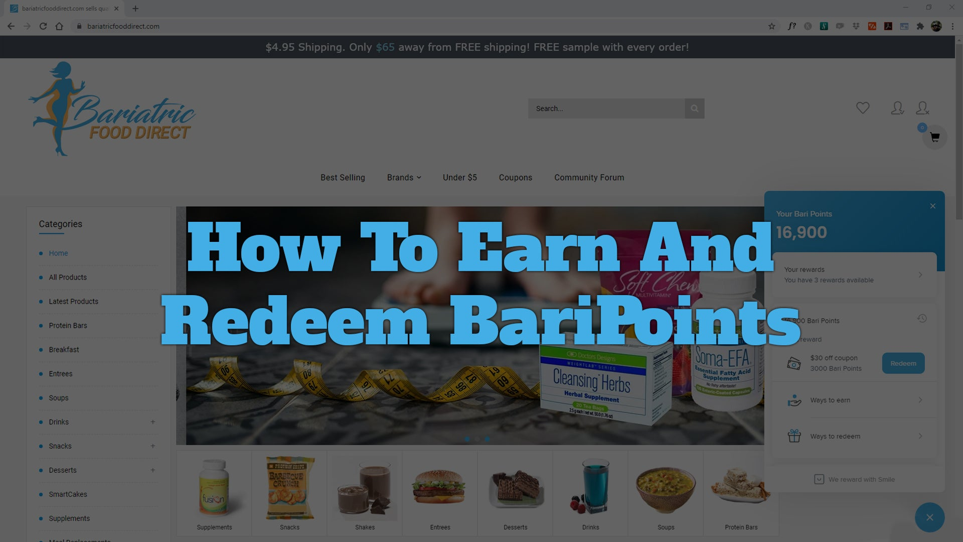 The BariPoint Rewards Program