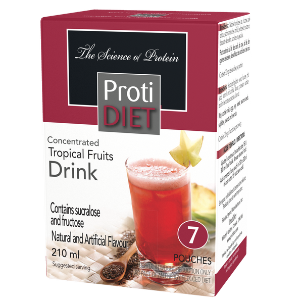 ProtiDiet Tropical Fruits Concentrate