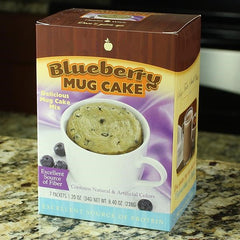 High-Protein Blueberry Mug Cake