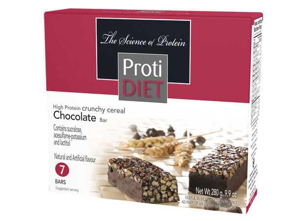 ProtiDiet Crunchy Cereal Chocolate Bar