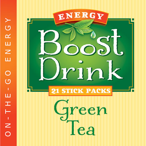 Green Tea Energy Boost Drink