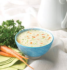Cream of Chicken Soup with Vegetables