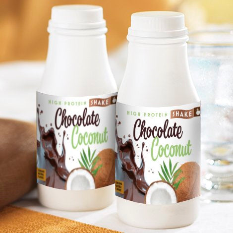 HIGH PROTEIN CHOCOLATE COCONUT SHAKE
