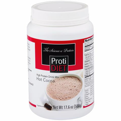 ProtiDiet Hot Cocoa High Protein Drink Mix (TUB)