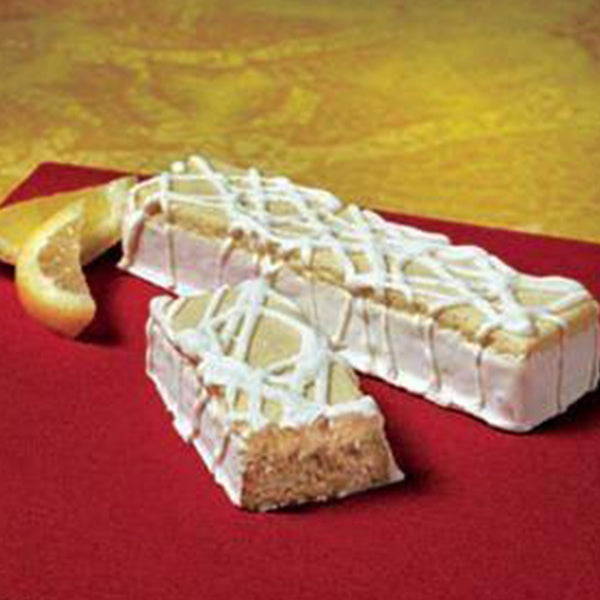 Frosted Lemon Meringue Bariatric Bar