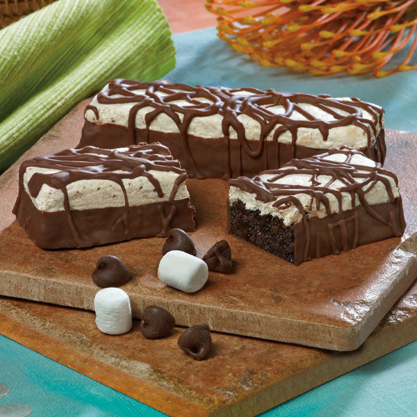 Frosted Marshmallow Brownie Bar
