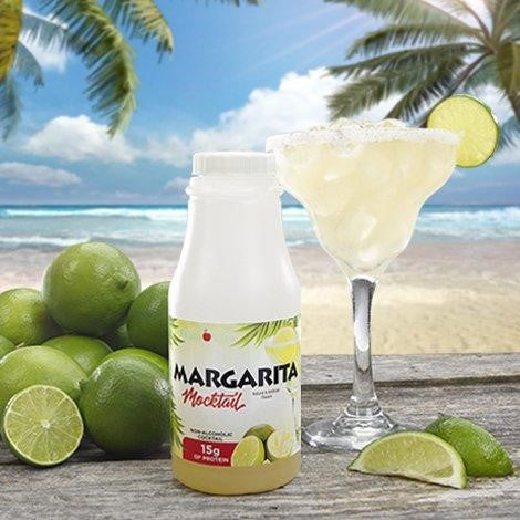 Margarita Mocktail Drink in a bottle