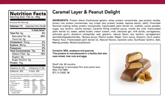 ProtiDiet Caramel Layer & Peanut Delight Bar