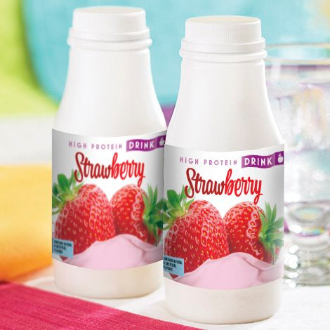 Strawberry Instant Drink in a bottle