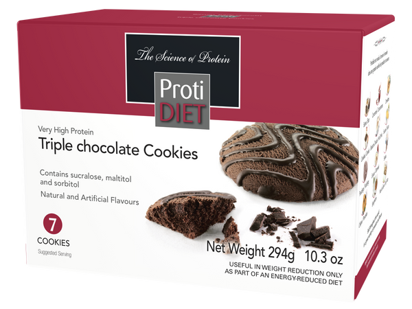 ProtiDiet Triple Chocolate Cookies