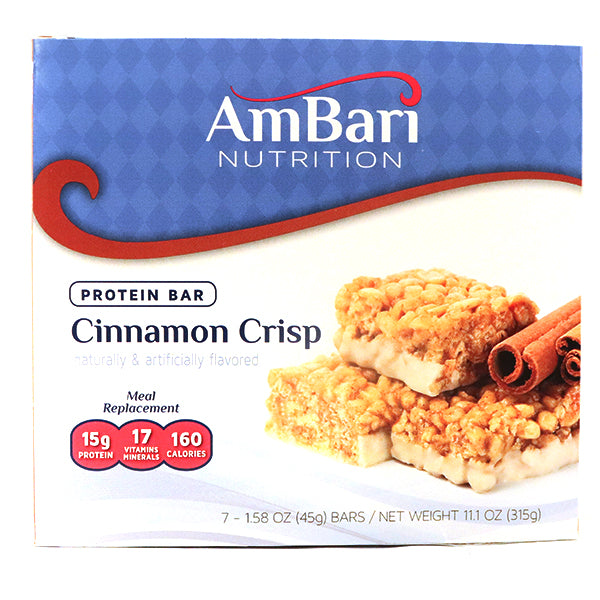 Cinnamon Crisp Bar - 15 grams of protein