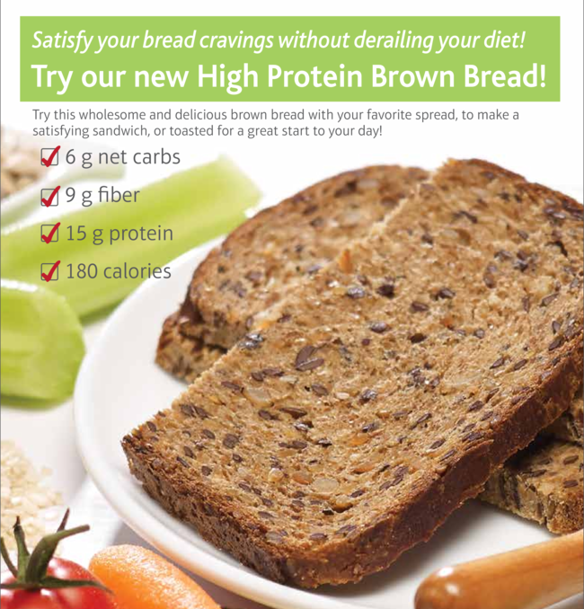*NEW* High Protein Brown Bread