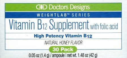 Vitamin B12 Supplement w/Folic Acid