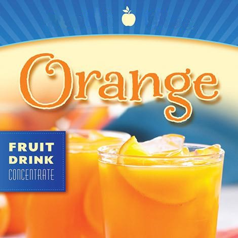 Orange Fruit Drink Concentrate