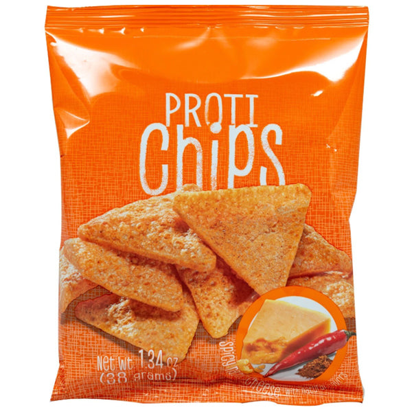 Proti Chips - Spicy Nacho Cheese Chips