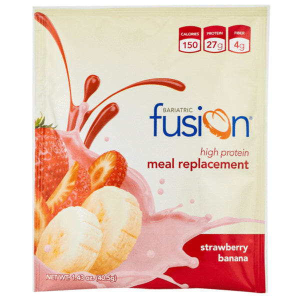 Bariatric Fusion-Strawberry Banana Protein Powder Single Serving