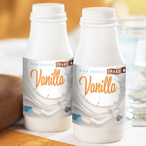 Vanilla Drink in a Bottle