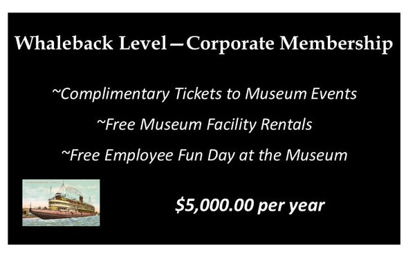 Whaleback Corporate Membership