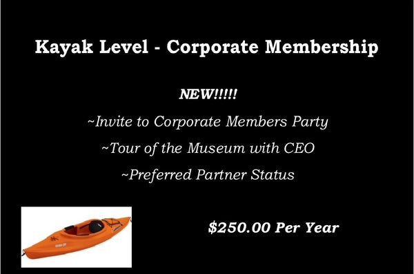 Kayak Corporate Level Membership
