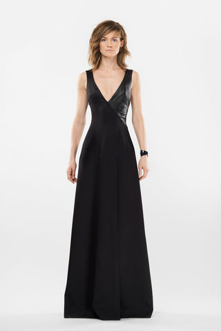 Maxi evening gown