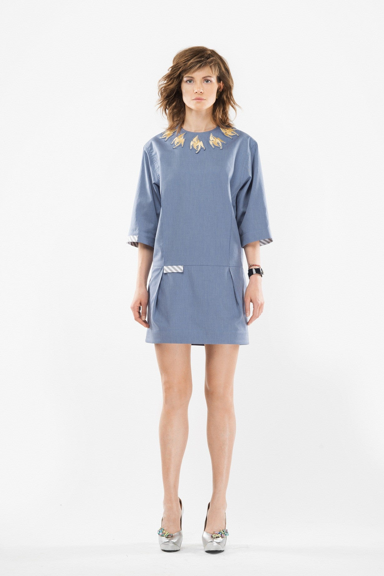 Short cotton dress