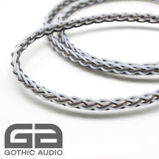0.5m Units Of 8 Core Pure Silver Braided Cable
