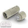 AX4-1611S AECO 4 Pin XLR Silver Plated Tellurium Copper Contacts