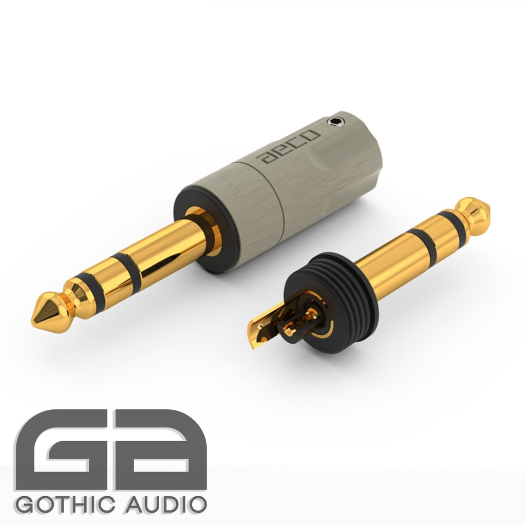 AT6-1231G / Stereo / Gold plated Tellurium Copper TRS Connector