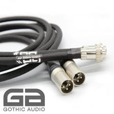 4 Pin Din To XLR Mono Pure Silver Interconnect (Left & Right Available)