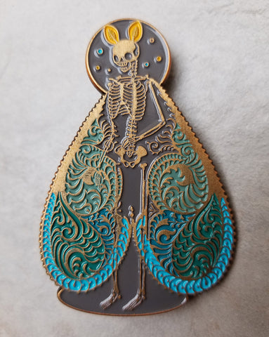 Lit Pin, Gold & Blue Edition