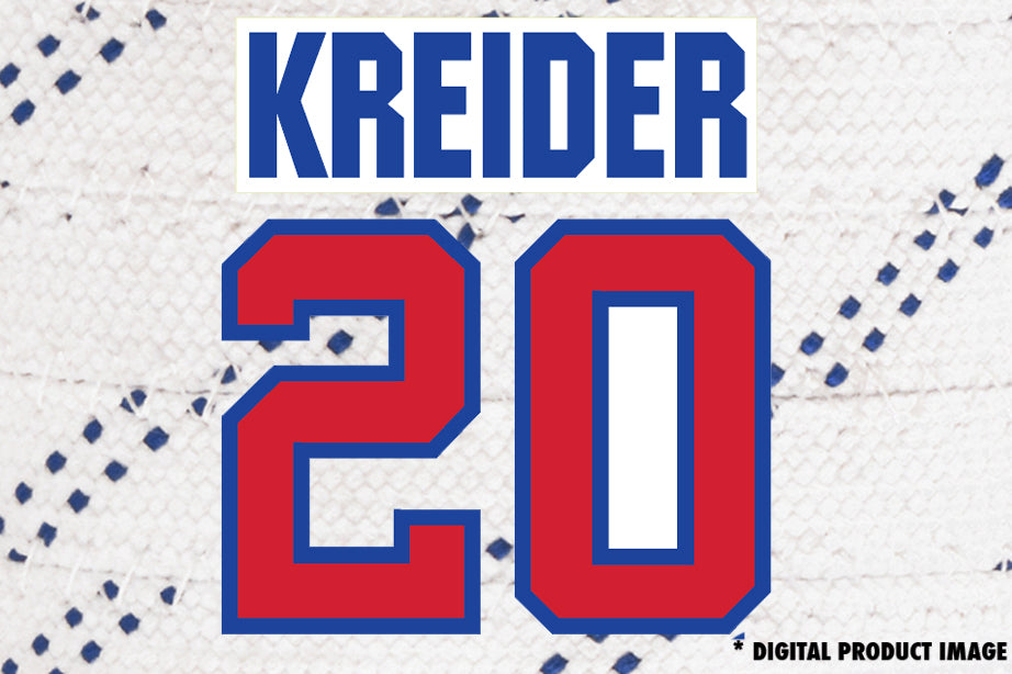 Chris Kreider #20
