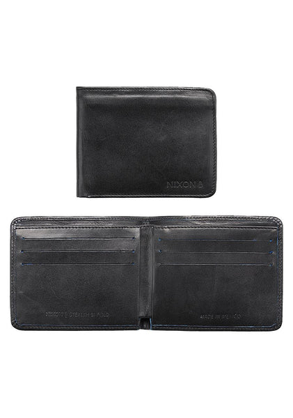 Stealth Slim Bi-Fold Wallet Mexican Leather