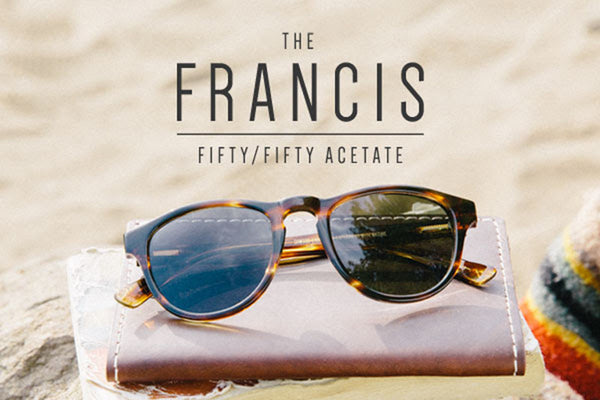 The Francis Frame- Acetate