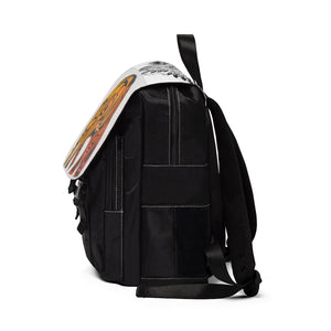 Unisex Casual Shoulder Backpack