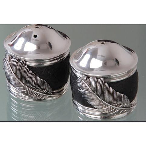 Salt & Pepper Cellars Ebony - Usiba Lwe Nyoni Collection - Diana Carmichael-GoodiesHub