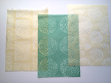 Handmade Washi Paper - 12 Assorted Sheets