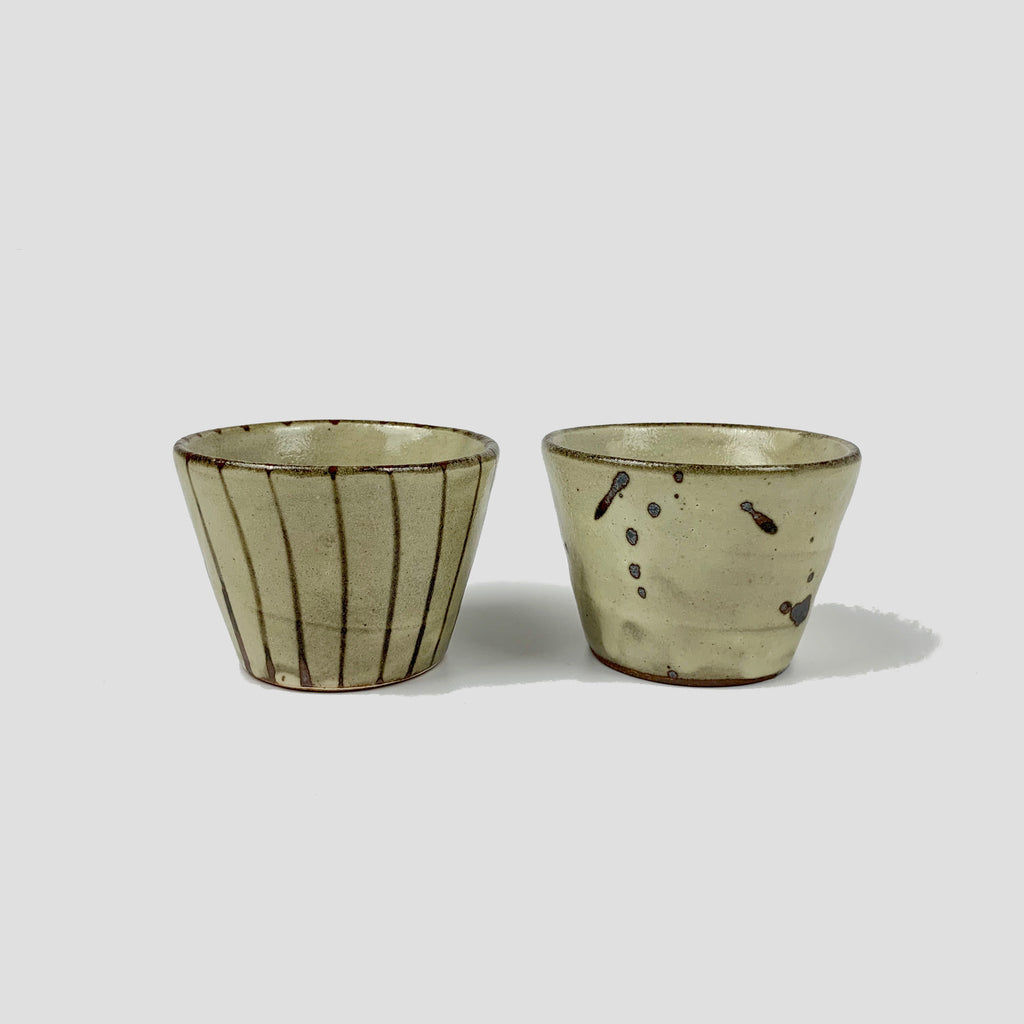 Ceramic Cup - Brown Patterns