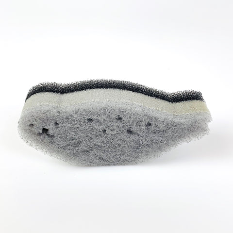 Seal Shaped Scrub Sponge