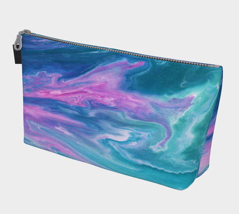 Flowscape Makeup Bag