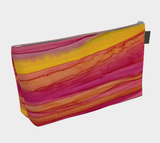 Sunset Mountains Makeup Bag