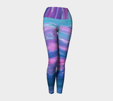 Flowscape Yoga Leggings