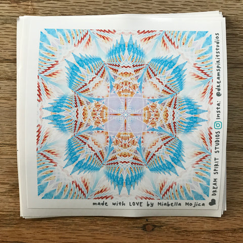 "Dreamcatcher Mandala 4"" Sticker"