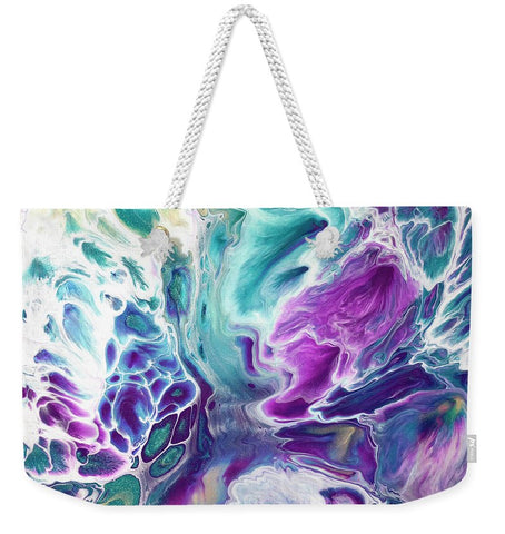 Gold Dragon Explosion - Weekender Tote Bag