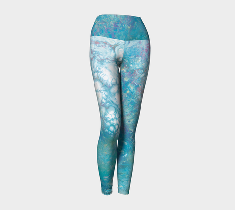 Where Stars Are Born Yoga Leggings