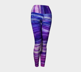 Maia Purple Yoga Leggings