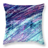 Space Rock Mountains 10 - Throw Pillow