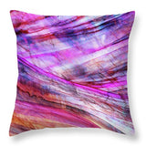 Space Rock Mountains 2 - Throw Pillow