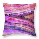 Space Rock Mountains 4 - Throw Pillow