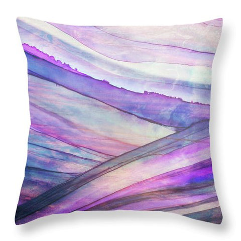 Space Rock Mountains 5 - Throw Pillow