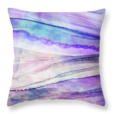 Space Rock Mountains 6 - Throw Pillow